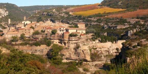 Minerve à l'automne - Hérault, le Languedoc © Photothèque Hérault Tourisme - S. Lucchese